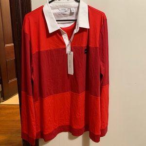 Red Calvin Klein Liquid Touch long sleeve for men!